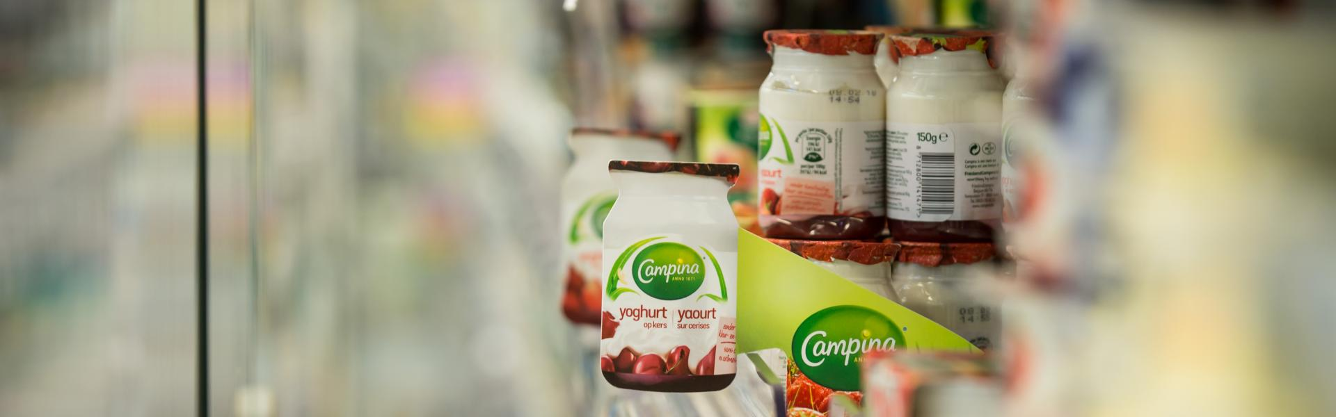 In-store communication Campina