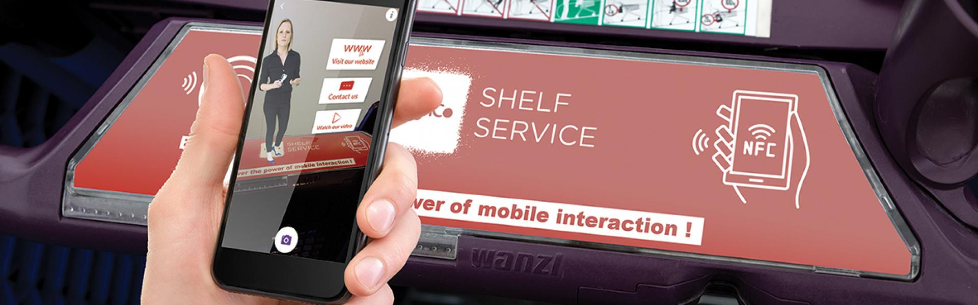 in-store digital solutions, nfc, in-store media