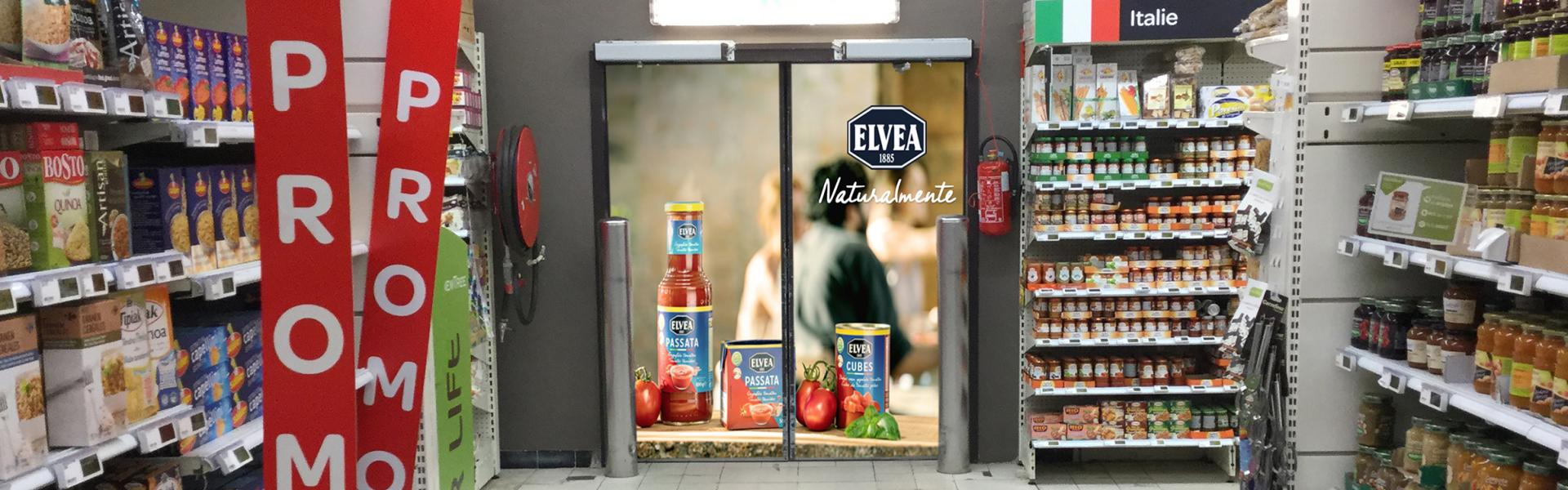 vision door, billboard, in-store poster, affichage, big size poster